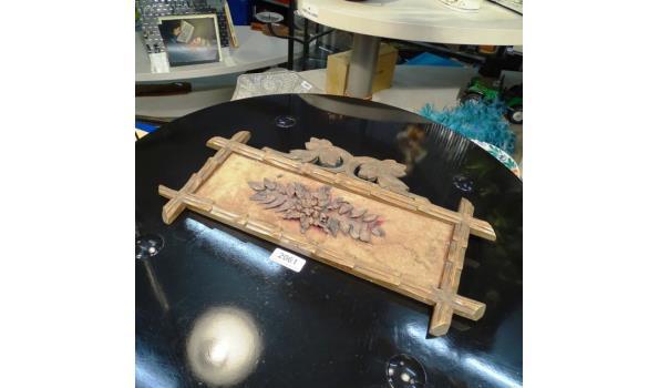 Antiek houten snijwerk