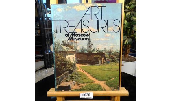 Boek Art treasures of Moscow museums