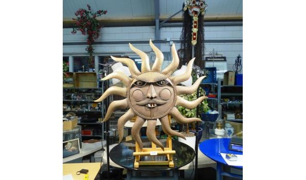 Grote koper/messing zon