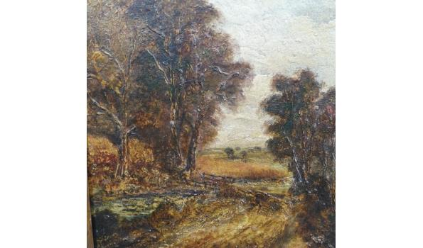 Olieverf schilderij