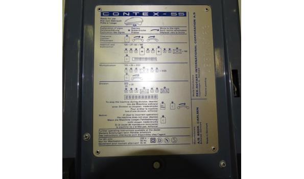 Vintage contex-55 rekenmachine