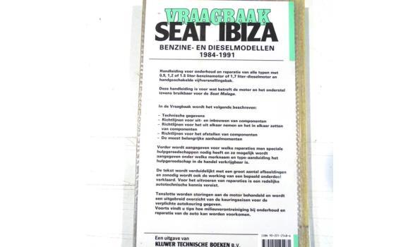 Vraagbaak Seat Ibiza