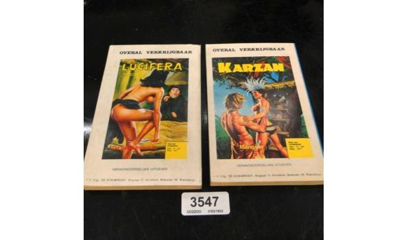 2 Erotische strips