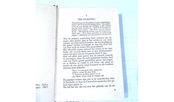 De psalmen. Verstaat wat gij leest? (1941)