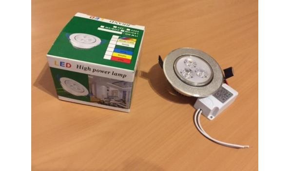 LED Inbouwspot 3x1W 10201217