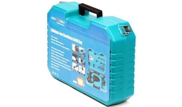 Accuboormachine 18 volt 2 stuks in koffer