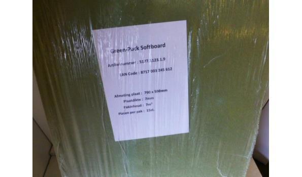 Ondervloer Isoboard 70m2