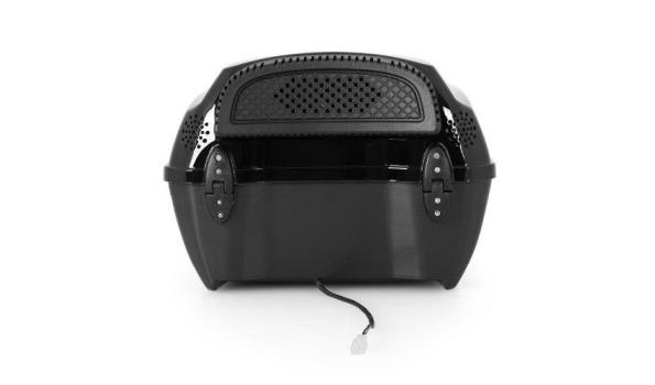 Scooterbox met ingebouwd soundsystem