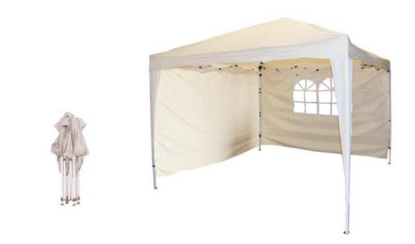 Partytent Pop-up gebroken wit