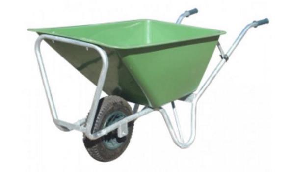 Kruiwagen 160 liter Heavy duty, 1 wiel