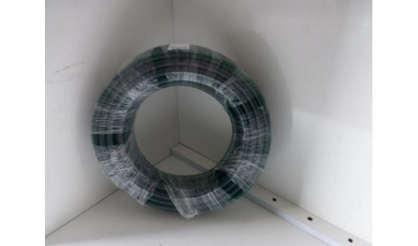Zuig/persslang 13 mm inw groen-zwarte spiraal