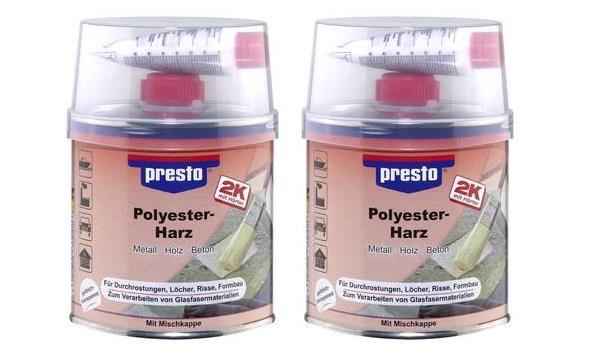 Polyesterhars 1k, 2x