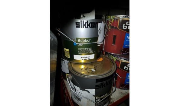 Sikkens Rubbol SB 2,3 liter