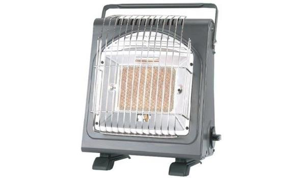 Gas heater & kookplaat in 1