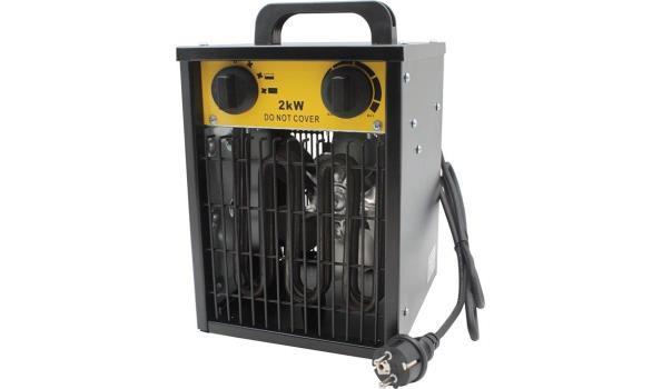 Werkplaatskachel 2000 Watt, 2x