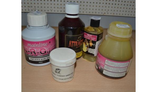 Diverse lokvoer liquid en powder o.a. merk Mainline -  5 stuks