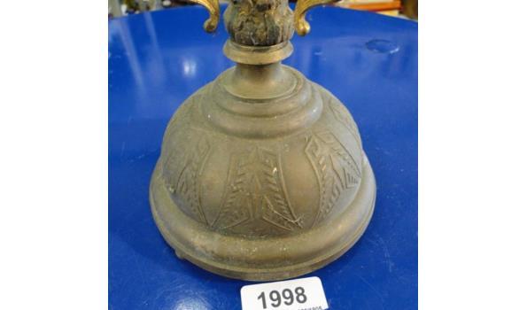 Antieke brons/messing staander