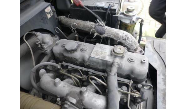 Heftruck Tailift-Isuzu Diesel
