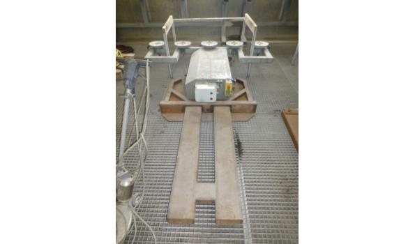 Vacuumheffer elektrisch-hydraulisch