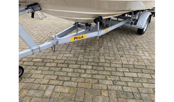 Broom polyester toer/speedboot