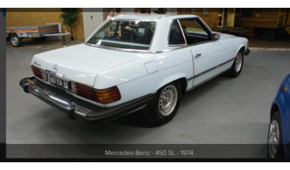 Mercedes 450SL, oldtimer