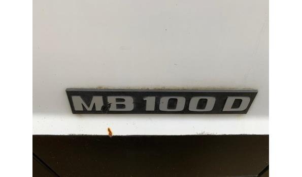 Mercedes mb 100 originele fabrieks camper van het Topmerk Karmann