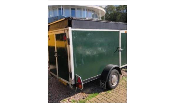 Gesloten aanhangwagen AFM - 200x125x125cm
