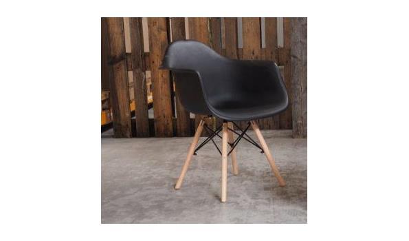Eetkamer stoel Cube Trend black 3x
