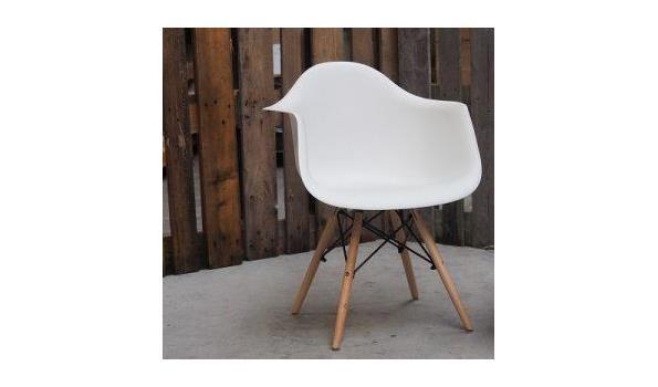 Eetkamer stoel Cube Trend white 3x