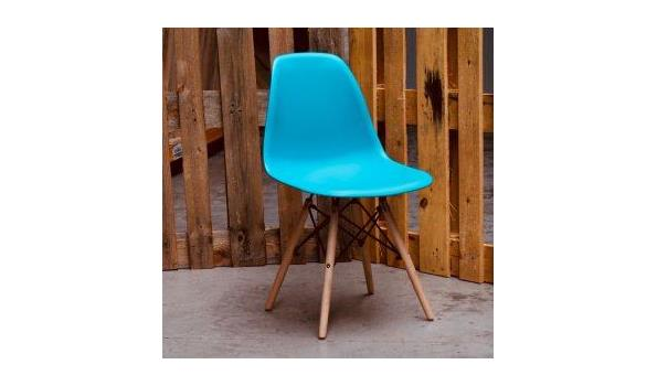 Eetkamer stoel Trend blue 3x