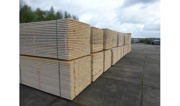 Steigerplanken/steigerhout 500 cm 30 x 200 mm