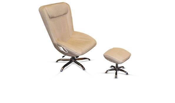 Relaxstoel met verwarming & Hocker