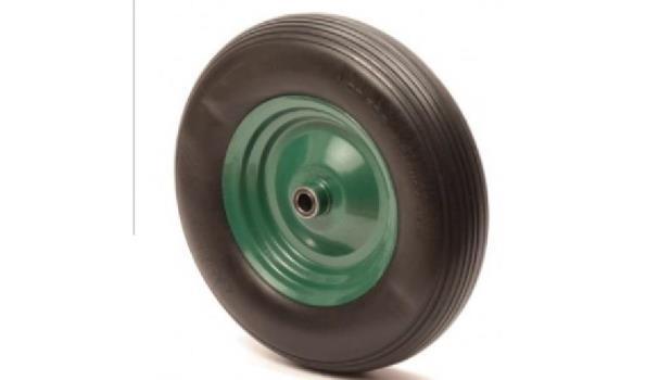 Kruiwagenwiel anti-lek, metalen velg