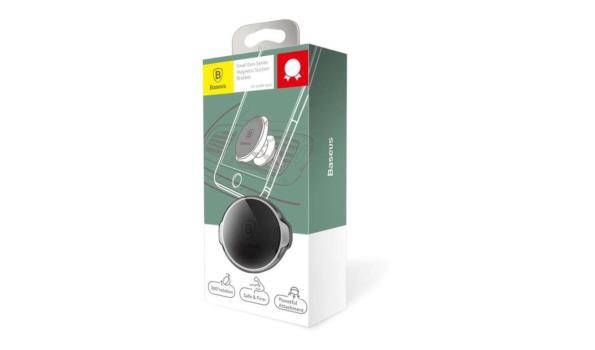 Luxe Magnetische Mini  Smartphonehouder (360 graden verstelbaar) - Zwart
