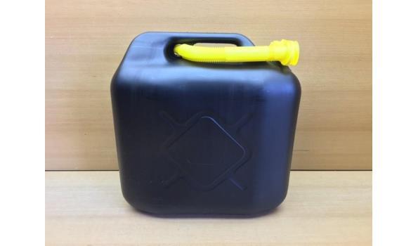 Jerrycan PVC 20 liter.