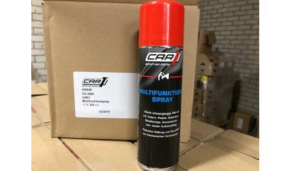 Spuitbussen multispray 300 ml. 12 stuks