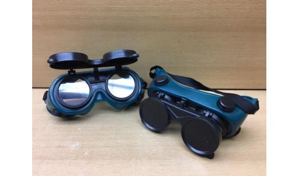 Las / slijpbrillen 2 stuks