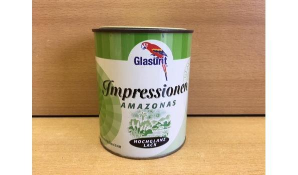Verfblik 1 kg Glasurit Amazone Groen
