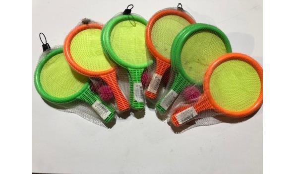 Tennissets 6 stuks
