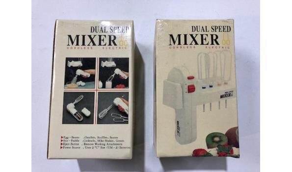 Mixers op batterijen 2 stuks