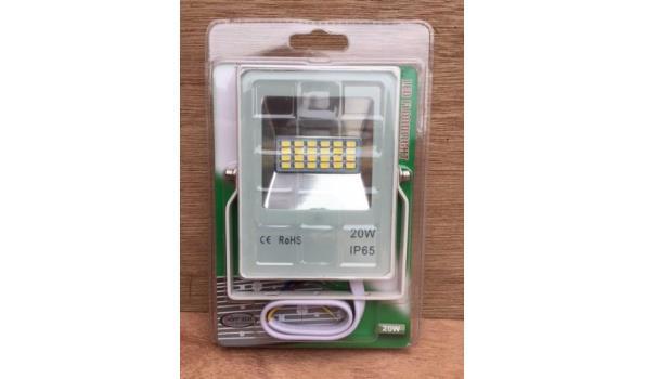 LED straler flat line 20 watt.