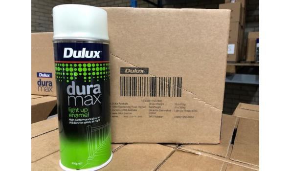Spuitbussen Dulux Dura Max Light up enamel 12 stuks
