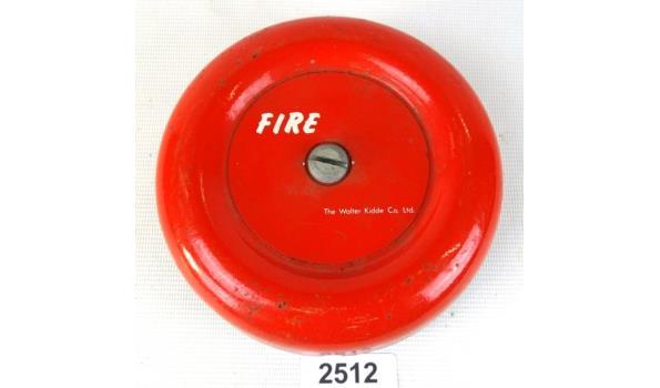 Vintage elektrische Amerikaanse Fire Bell