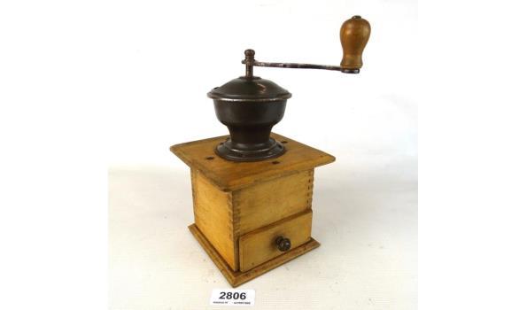 Oude schoot koffiemolen