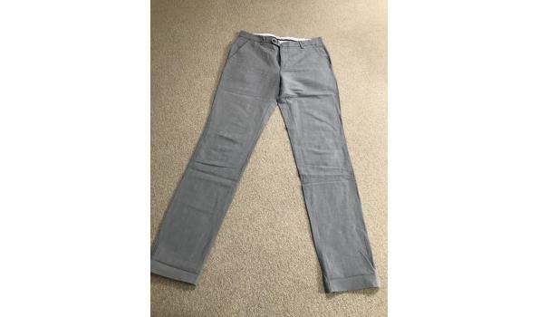 McGregor linnen pantalon grijs, maat 48.