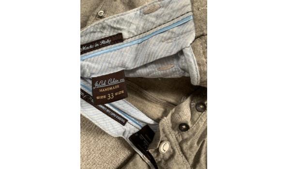 Jacob Cohen pantalon grijs, model 620. Maat 33.
