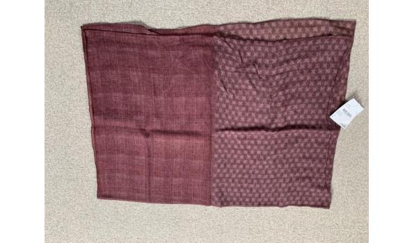 Roda shawl rood gemêleerd.