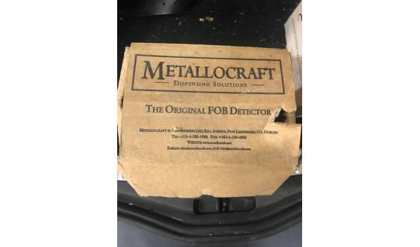 Metallocraft bierschuim detectors, 2 stuks