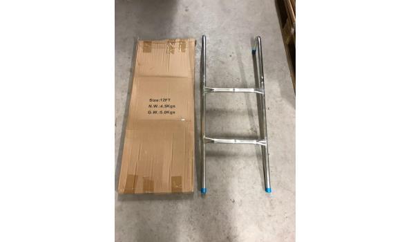 Aluminium trapje - 2 treden