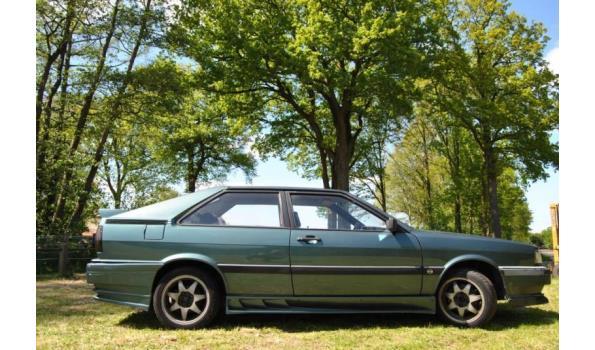 Audi Coupe GT 5E 2.2. injectie, 100 KW Kenteken: NF-TT-42